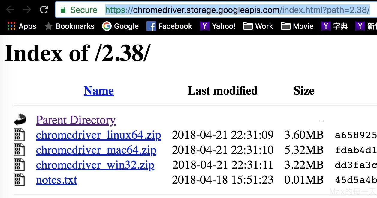 Selenium 使用Chrome 瀏覽器webdriver - IT閱讀